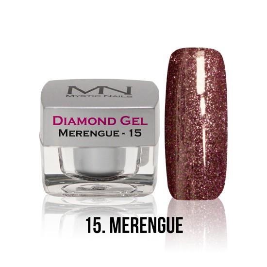 Diamond Gel - no. 15. - Merengue -4g