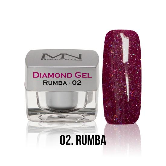 Diamond Gel - no. 02. - Rumba -4g