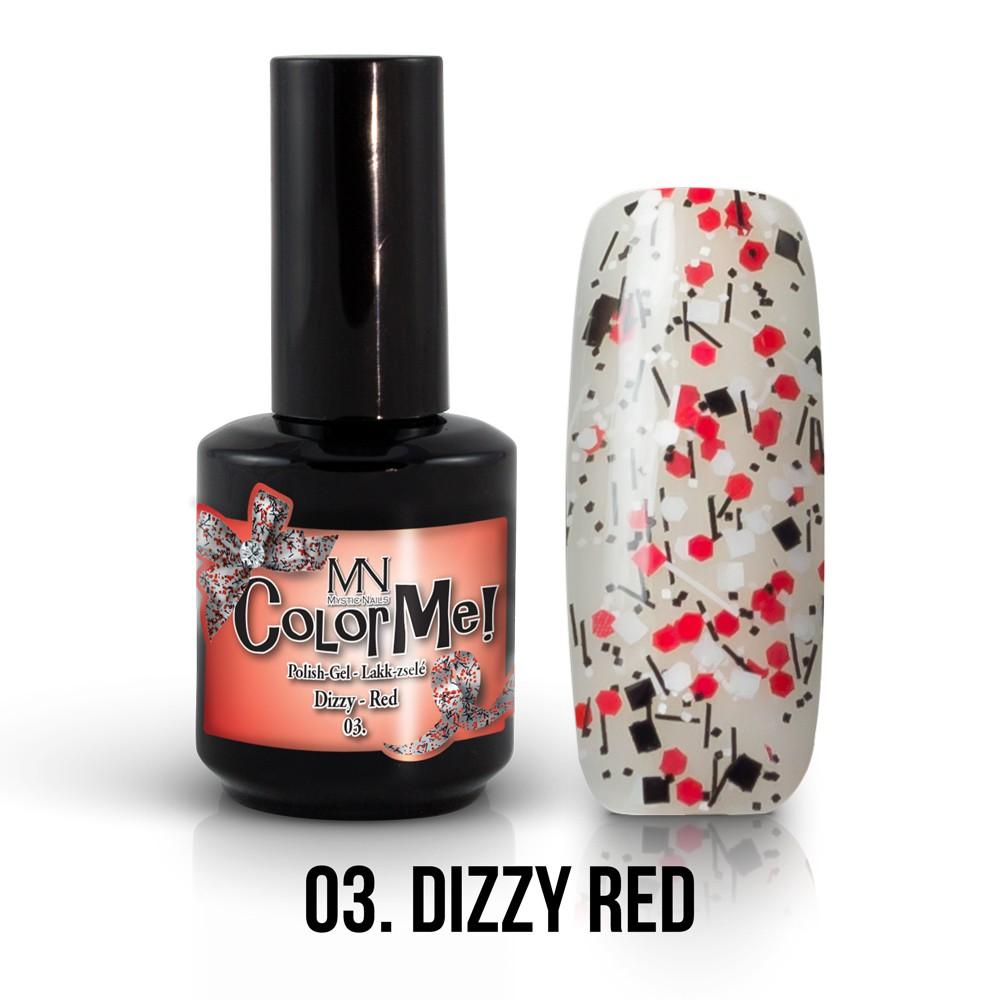 ColorMe! Dizzy no.03. - Dizzy Red 12ml