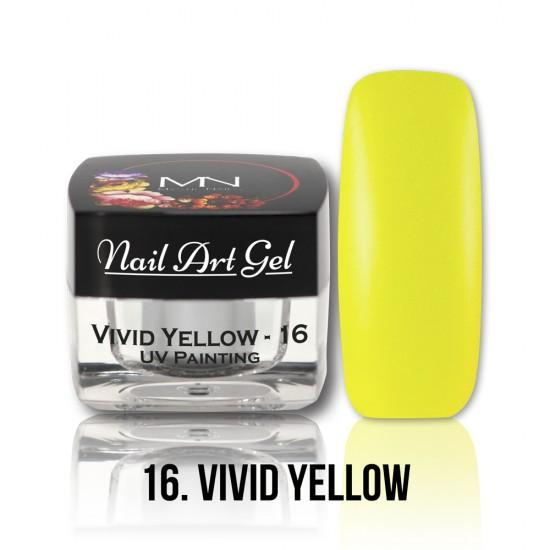 UV Painting Nail Art gel 16 - Vivid Yellow