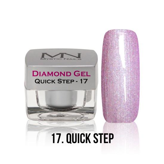 Diamond Gel - no. 17. - Quick Step -4g