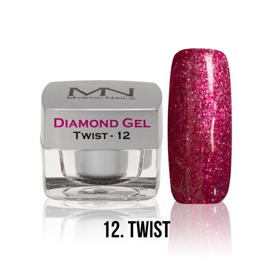 Diamond Gel - no. 12. - Twist -4g