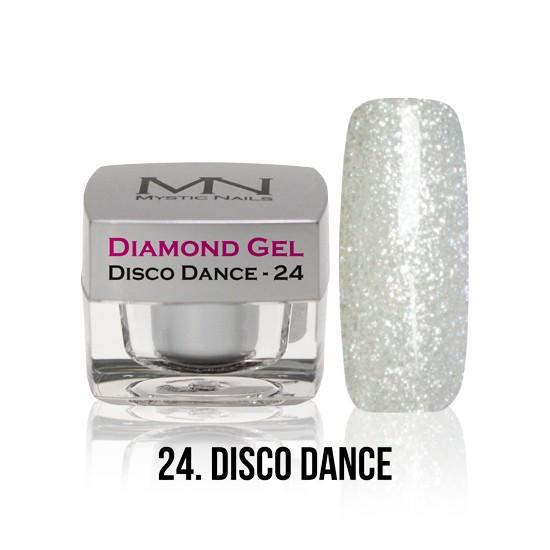 Diamond Gel - no. 24. - Disco Dance -4g