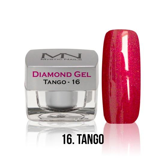 Diamond Gel - no. 16. - Tango -4g