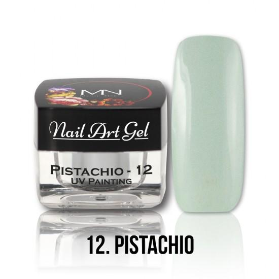 UV Painting Nail Art gel 12 - Pistachio