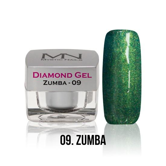 Diamond Gel - no. 09. - Zumba -4g