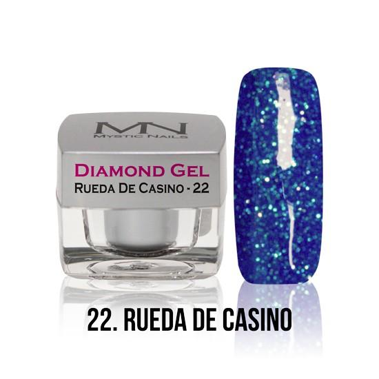Diamond Gel - no. 22. - Rueda De Casino -4g