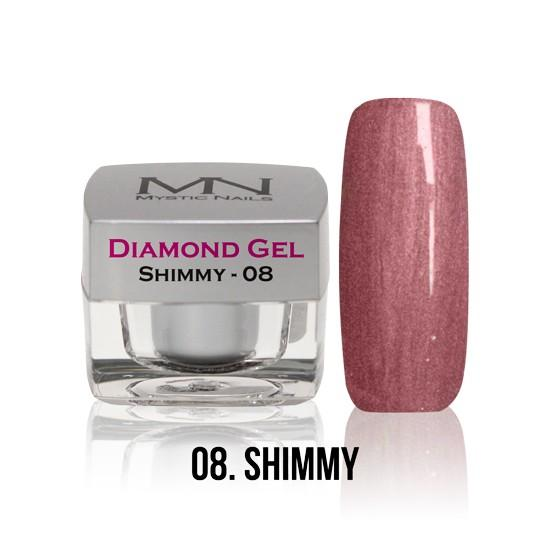 Diamond Gel - no. 08. - Shimmy -4g