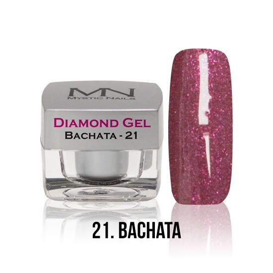Diamond Gel - no. 21. - Bachata -4g