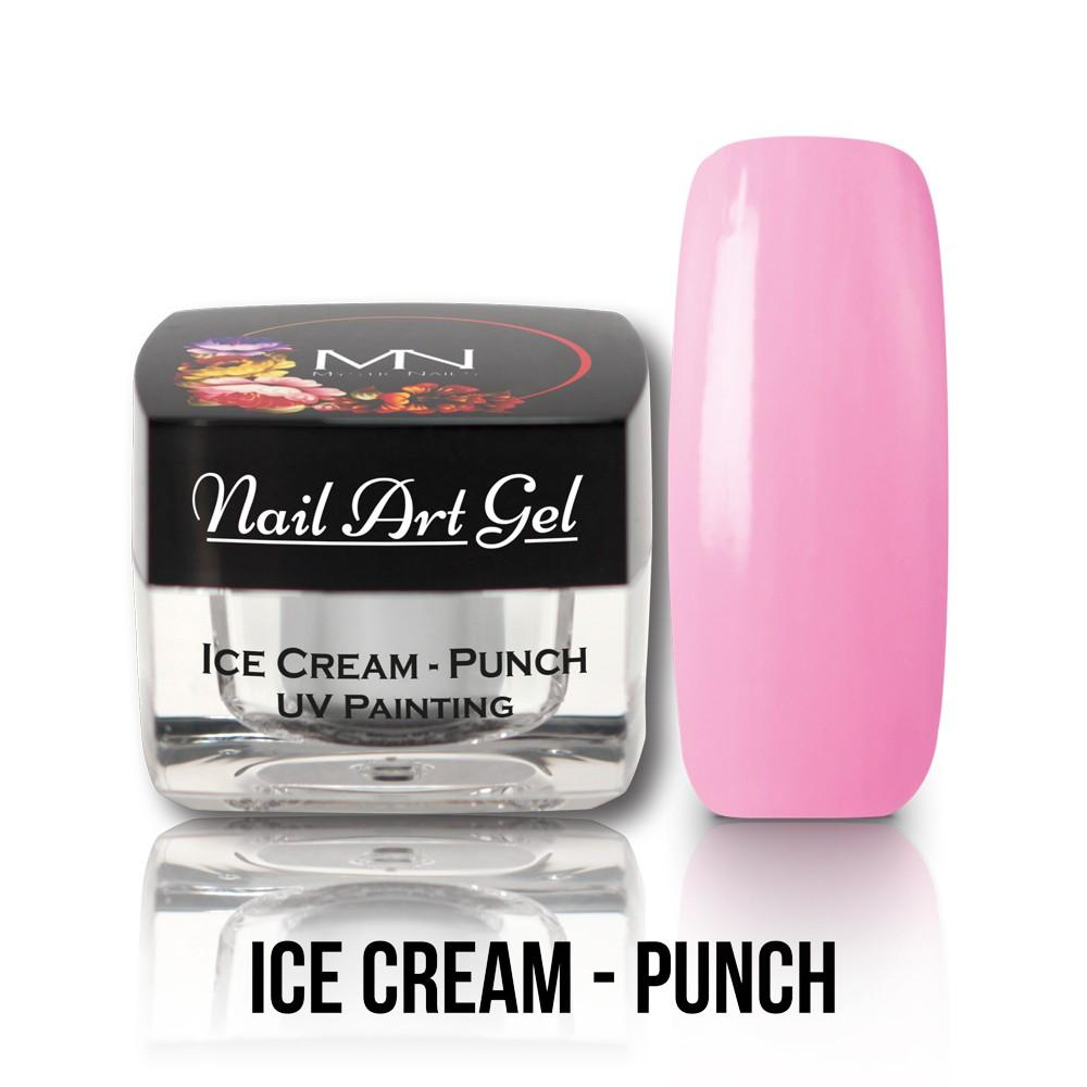 UV Painting Nail Art gel  -Ice Cream Punch 4g