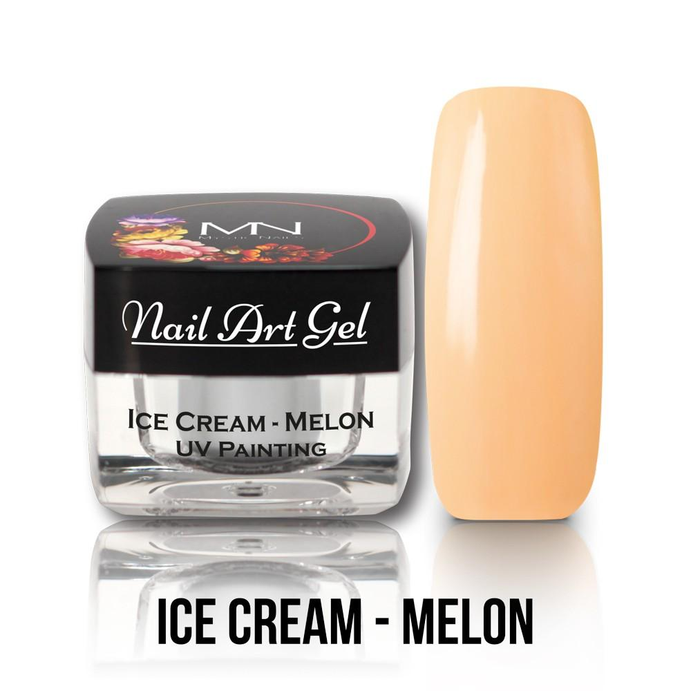 UV Painting Nail Art gel  -Ice Cream Melon 4g