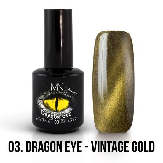 03 Dragon eye - Vintage zlatá 12ml