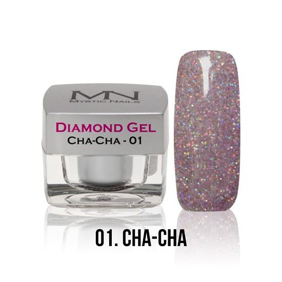 Diamond Gel - no. 01. - Cha-Cha -4g