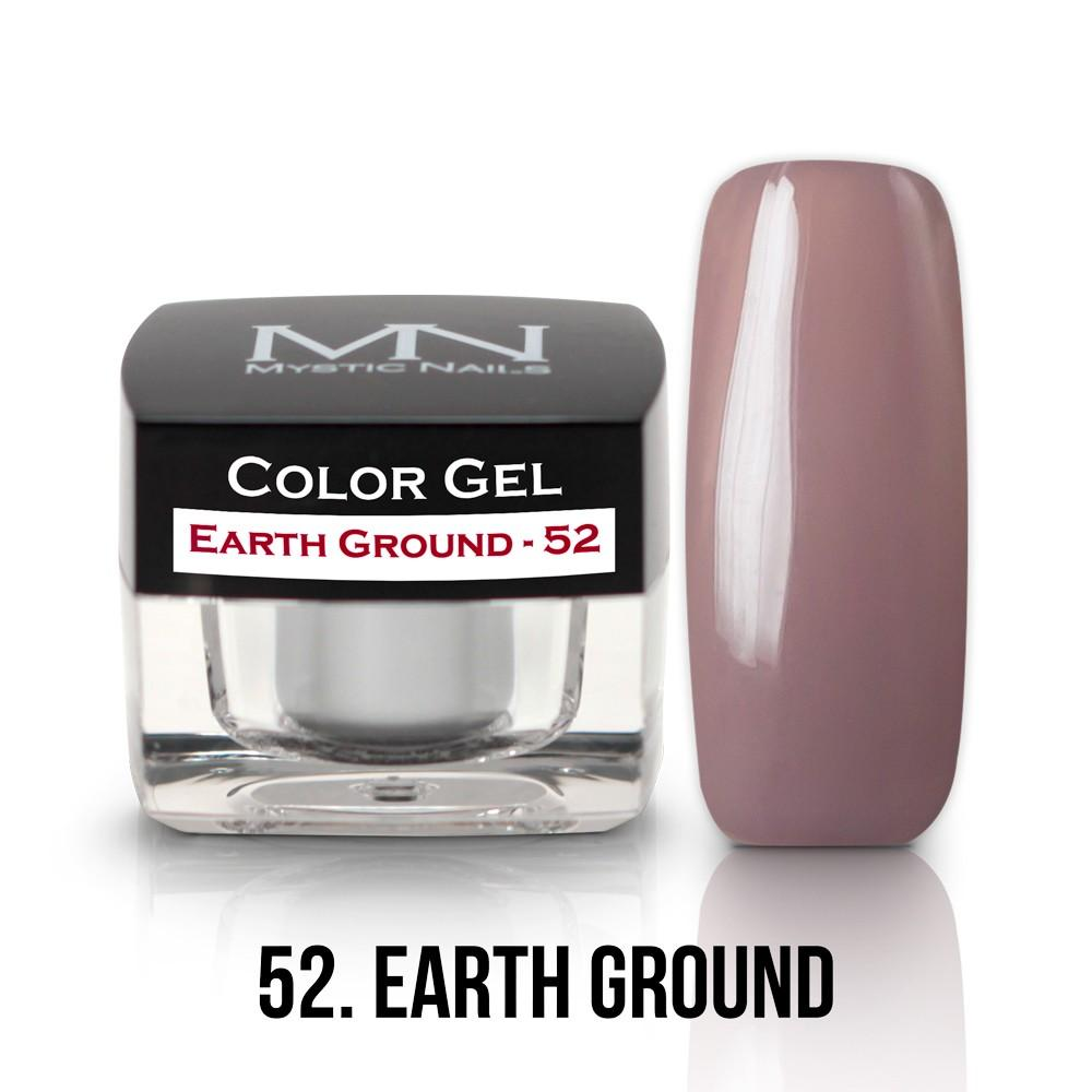 Farebný UV gél - 52 Earth Ground- 4g