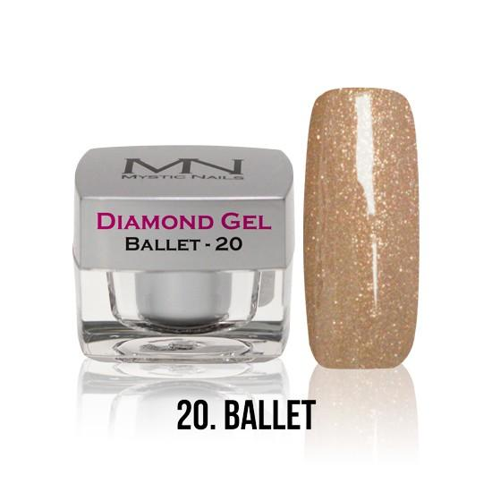 Diamond Gel - no. 20. - Ballet -4g