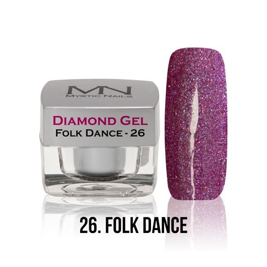 Diamond Gel - no. 26. - Folk Dance -4g