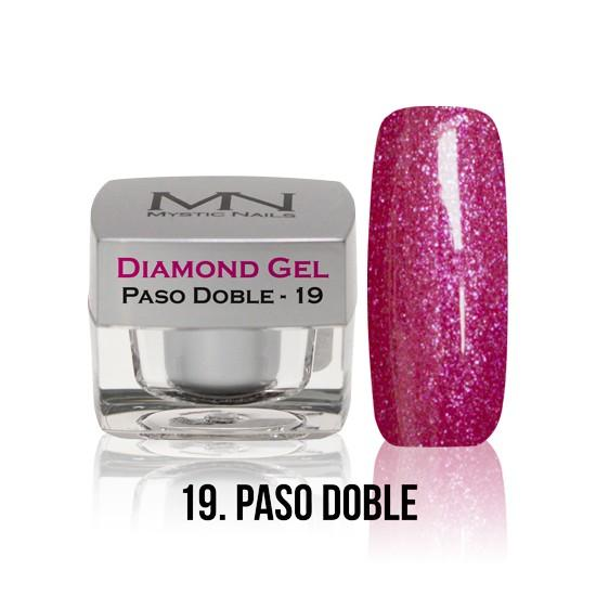 Diamond Gel - no. 19. - Paso Doble -4g